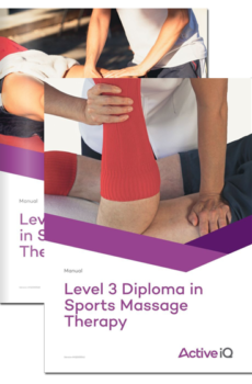Active IQ level 3 and 4 Certificates in Sports Massage