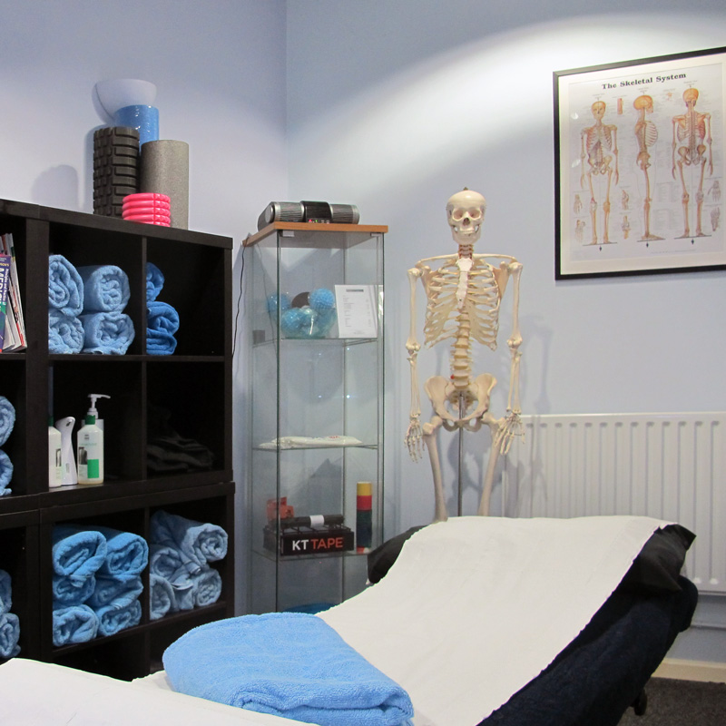 Treatment room at Body Matters clinic