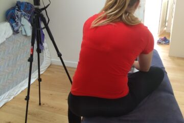 Turning a spare bedroom into a film studio